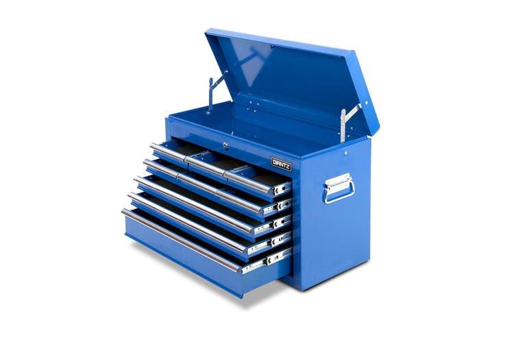 Giantz 9 Drawer Tool Box Chest Cabinet Garage Storage Toolbox Organizer Mechanic Case Kit BLUE
