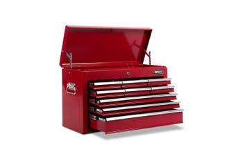 Giantz 9 Drawer Tool Box Chest Cabinet Garage Storage Toolbox Organizer Mechanic Case Kit RED