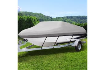 Seamanship 16-18.5ft Boat Cover Trailerable Marine Grade Waterproof 600D