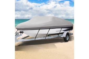 Seamanship 16-18.5ft Boat Cover Trailerable Marine Grade Waterproof 600D