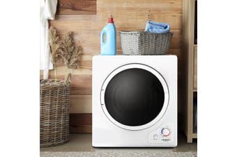 Devanti 4kg Tumble Dryer Machine Air Vented Front Load Wall Mount