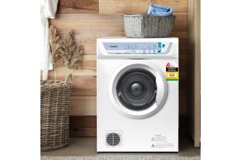 Devanti 7kg Tumble Dryer Adjustable Heat Air Vented Wall Mount Kit White