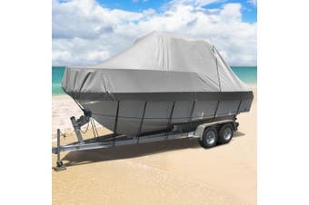 Seamanship 17-19ft Boat Cover Trailerable Jumbo 600D Waterproof Marine Heavy Duty