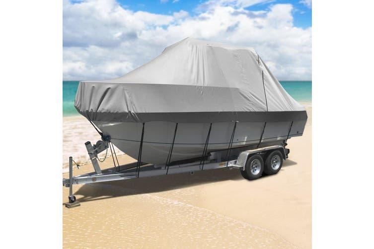 Seamanship 19-21ft Boat Cover Trailerable Jumbo 600D Waterproof Marine Heavy Duty