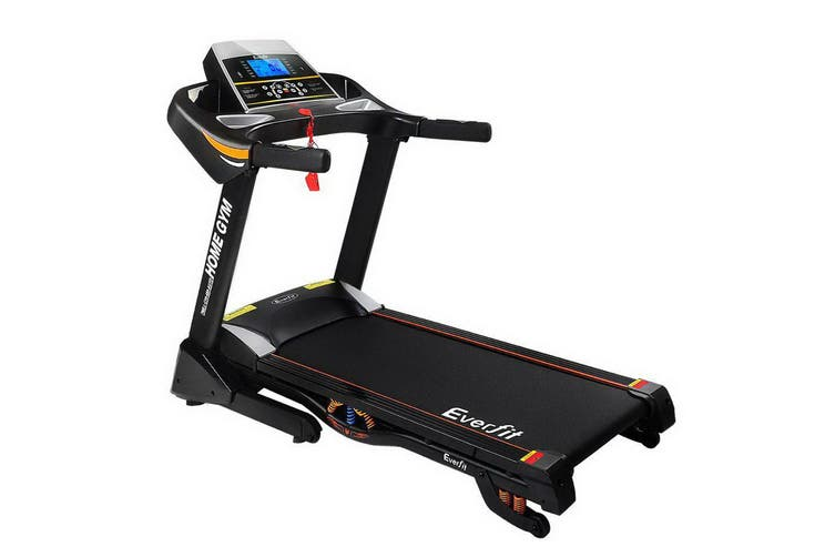 Everfit Electric Treadmill 48cm Auto Incline Home Gym Exercise Machine Fitness Running Run
