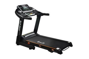 Everfit Electric Treadmill 420mm 18kmh Home Gym Exercise Machine Fitness Equipment Physical