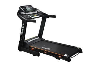 Everfit Electric Treadmill 42cm Cardio Home Gym Exercise Machine Fitness Running Run