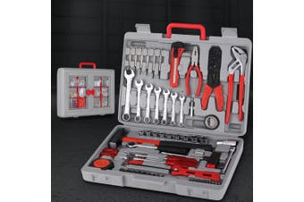 555pcs Tool Kit Set Case Mechanics Box Kits Toolbox Portable DIY Household Repair