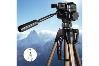 Professional Camera Tripod Monopod Stand DSLR Ball Head Mount