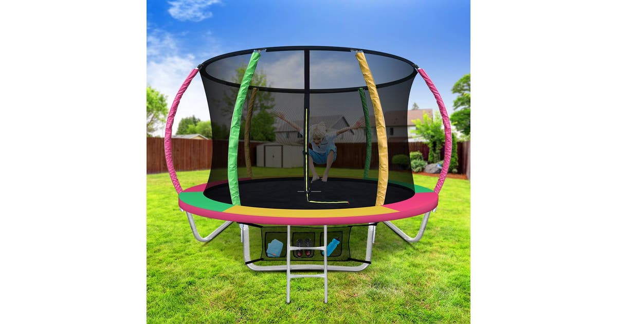8FT Round Trampoline   Stay At Home Mum