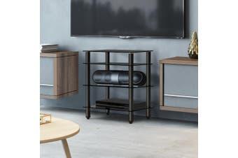 Artiss 4 Tier TV Stand Entertainment Unit  Hifi Medi CD Shelf Storage