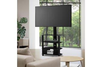 Artiss TV Mount Stand Swivel Bracket 3 Tier Floor Shelf 32 to 50 inch Universal