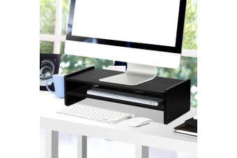Artiss TV Monitor Riser Base Foundation Stand Shelf Desktop Display