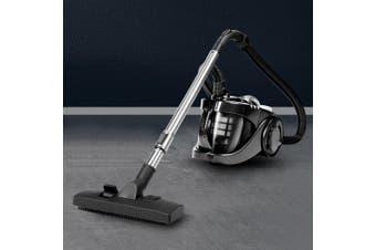 Devanti Bagless Vacuum Cleaner 2800W Cyclone Cyclonic Car Cleaners Home Black