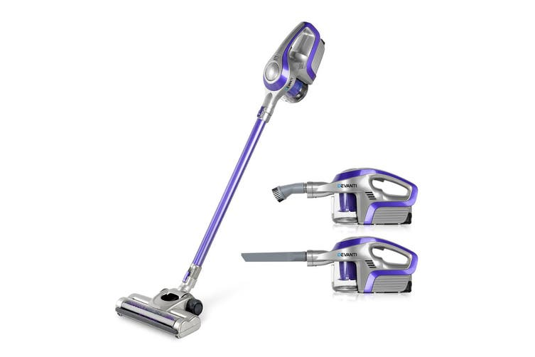 Devanti Cordless 150W Handheld Vacuum Cleaner Upright Bagless Handstick Portable for Car Rechargeable Vac