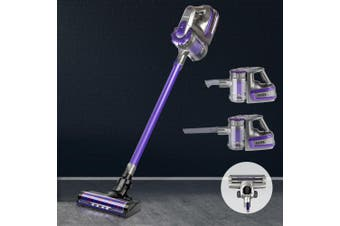 Devanti Cordless 150W Handheld Vacuum Cleaner Upright Bagless Handstick Portable 2-Speed Vac