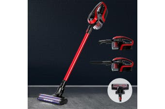 Devanti Cordless Handheld Vacuum Cleaner Upright Bagless Handstick Rechargeable with LED Headlight