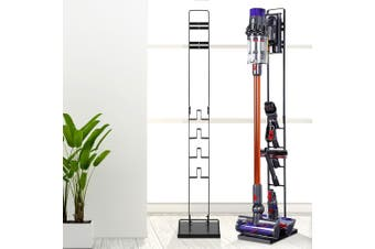 Free standing Floor Dyson Vacuum Stand Rack Holder For Cordless Cleaning Accessories Handheld Black
