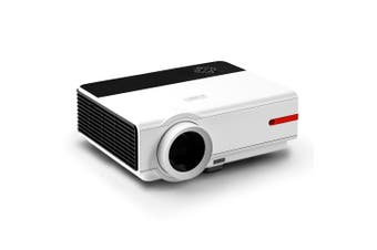 Devanti HD Video Projector 5000 Lumen WiFi Bluetooth Portable Home Theatre Office Presentation Multimedia