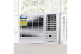 Devanti 2.7KW Portable Air Cooler Refridgerated Conditioner Conditioning Cooling Fan Window Wall Box Reverse Cyle