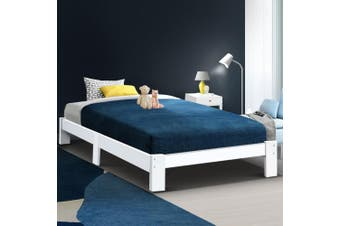 Artiss Bed Frame King Single Size Wooden Mattress Base Timber Platform JADE