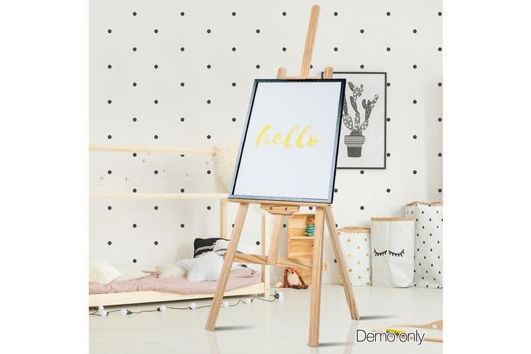Artiss 147cm Foldable Easel Pine Wood Art Display Painting Shop Tripod Stand Wedding