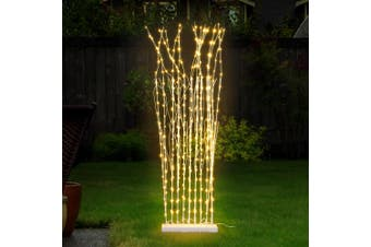 Jingle Jollys 1.5M LED Christmas Tree Forest Light Branch Xmas Lights Warm White
