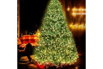 Jingle Jollys 1.8M 6FT Christmas Tree 1980 LED Pre Lights Decorations Warm White