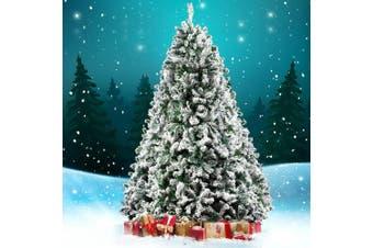 Jingle Jollys Christmas Tree 2.1M 7FT Xmas Decorations Snow Home Decor 1106 Tips