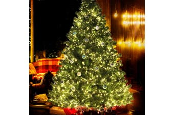 Christmas Tree 2.1M 7FT LED Light Pre Lit Xmas Decorations Green