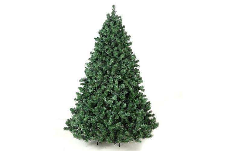 Christmas Tree 2 1m 7ft Led Light Pre Lit Xmas Decorations Green Matt Blatt