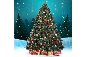 Jingle Jollys 2.1M 7FT Christmas Tree Xmas Decorations Green Snowy Home Decor