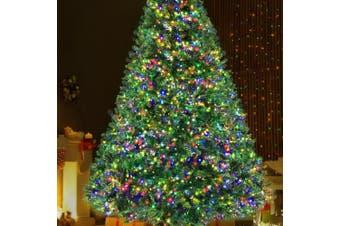 ingle Jollys Christmas Tree LED 2.4M 8FT Xmas Decorations Green Home Decor