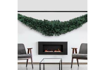Jingle Jollys Christmas Garland 2.4M Xmas Wreath Decoration Home Decor