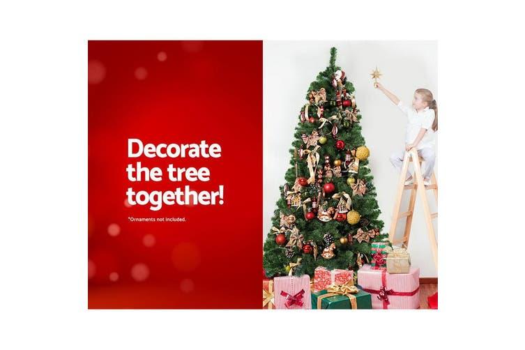 Jingle Jollys 1.8M 6FT Christmas Tree Xmas Decorations 500 Tips Green Home Decor