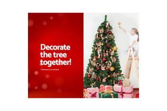 Jingle Jollys 2.1M 7FT Christmas Tree Xmas Decorations 700 Tips Green Home Decor