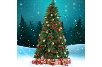 Jingle Jollys 2.4M 8FT Christmas Tree Xmas Decoration 1000 Tips Green Home Decor