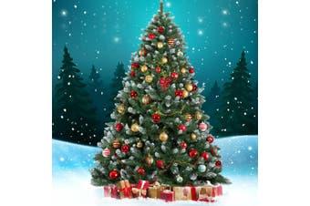 Jingle Jollys 1.8M 6FT Christmas Tree Xmas Decorations Snowy Green Home Decor