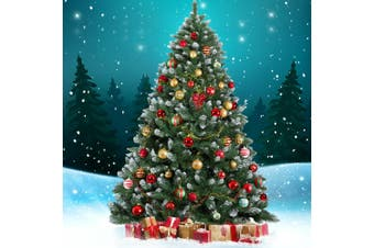 Jingle Jollys 2.1M 7FT Christmas Tree Xmas Decorations Snow Home Decor 1000 Tips