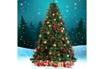 2.4M 8FT Christmas Tree Xmas Decoration Green Home Decor 1400 Tips