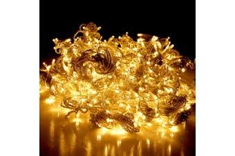 Jingle Jollys 6X3M Christmas Curtain Fairy Lights String 600LED Party Wedding WW