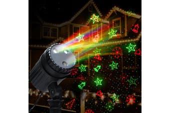 Jingle Jollys Christmas Laser Projector Moving LED Lights Landscape Lamp Outdoor