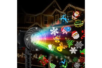 Jingle Jollys Christmas Laser Projector Moving LED Lights Landscape Lamp Outdoor