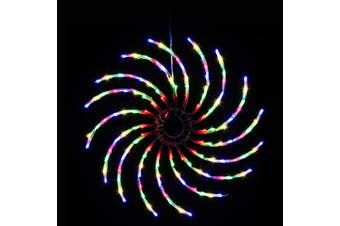 Jingle Jollys Christmas Lights Motif LED Spinner Light Waterproof Colourful