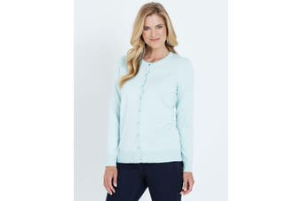 Women's Noni B L/S Scallop Edge Cardi | Cardigans Knitwear