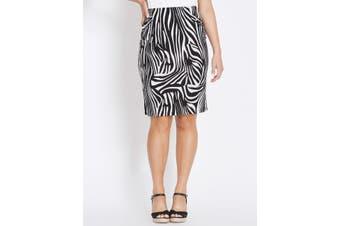 Women's Rockmans Knee Length Ity Skirt | Bottoms Skirts