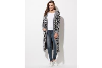 Women's Crossroads Long Animal Cardi | Cardigans Knitwear