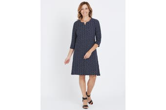 Women's Millers 3/4 Sleeve Midi Dress   Dresses