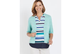 Women's Millers Textured Crop Cardigan | Cardigans Knitwear