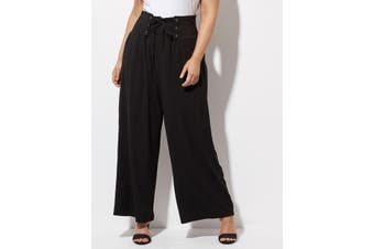 Women's Crossroads Laceup Wide Leg Pant   Bottoms Pants
